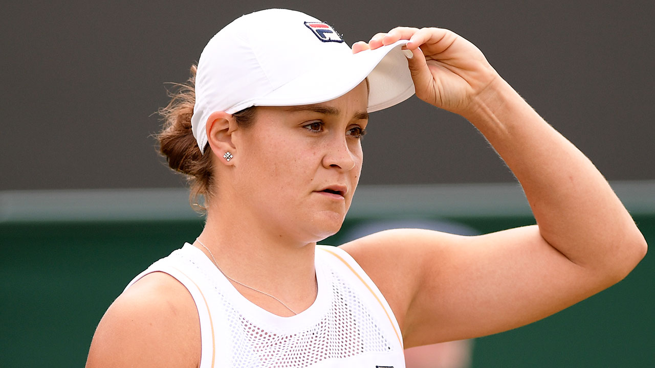 Concerning detail emerges in Ash Barty's Wimbledon preparation