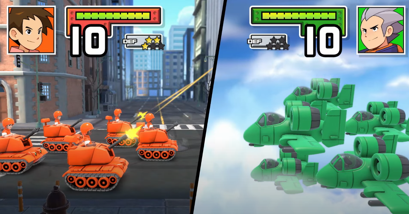 Nintendo is bringing remakes of 'Advance Wars' and its sequel to Switch