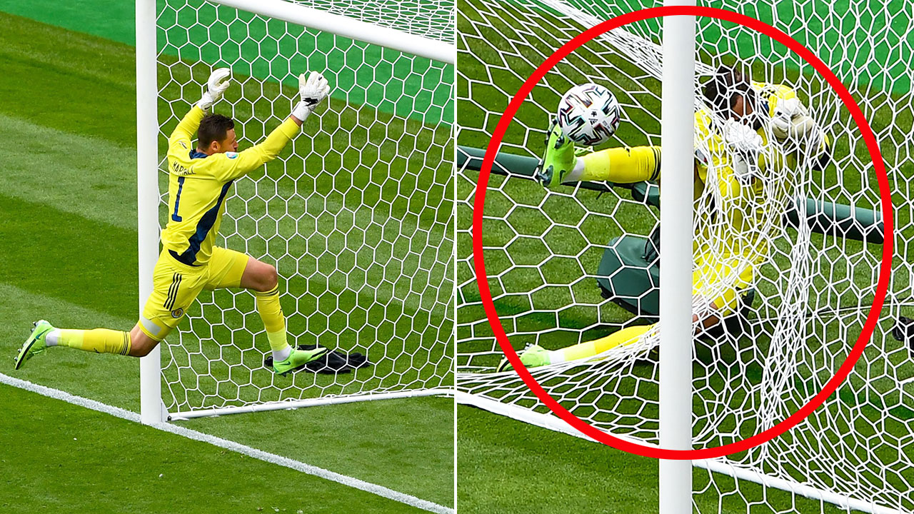 Internet roasts goalkeeper after 'ridiculous' Euro 2020 moment