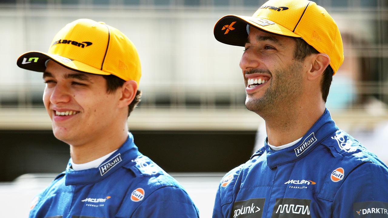 Daniel Ricciardo in ugly clash with teammate in French Grand Prix