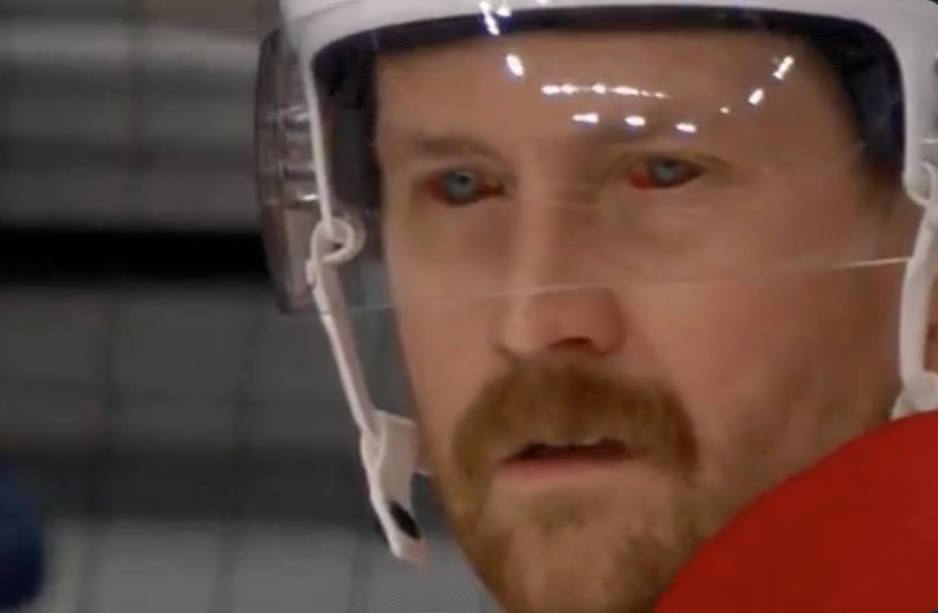 Jeff Petry's absurdly bloodshot eyes are freaking people out