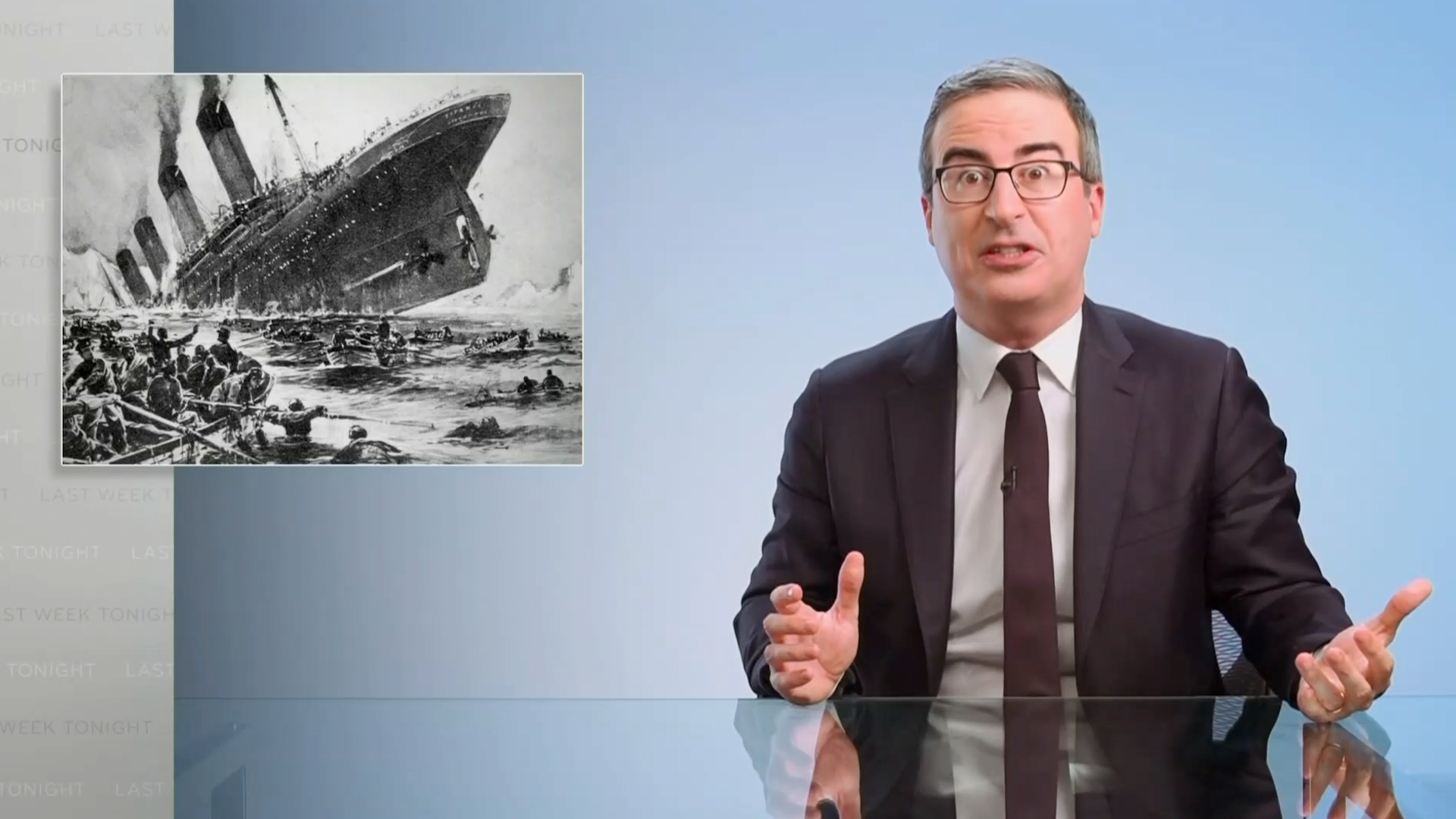 sports.yahoo.com: John Oliver highlights little-known story of Chinese Titanic survivors that is absolutely horrible