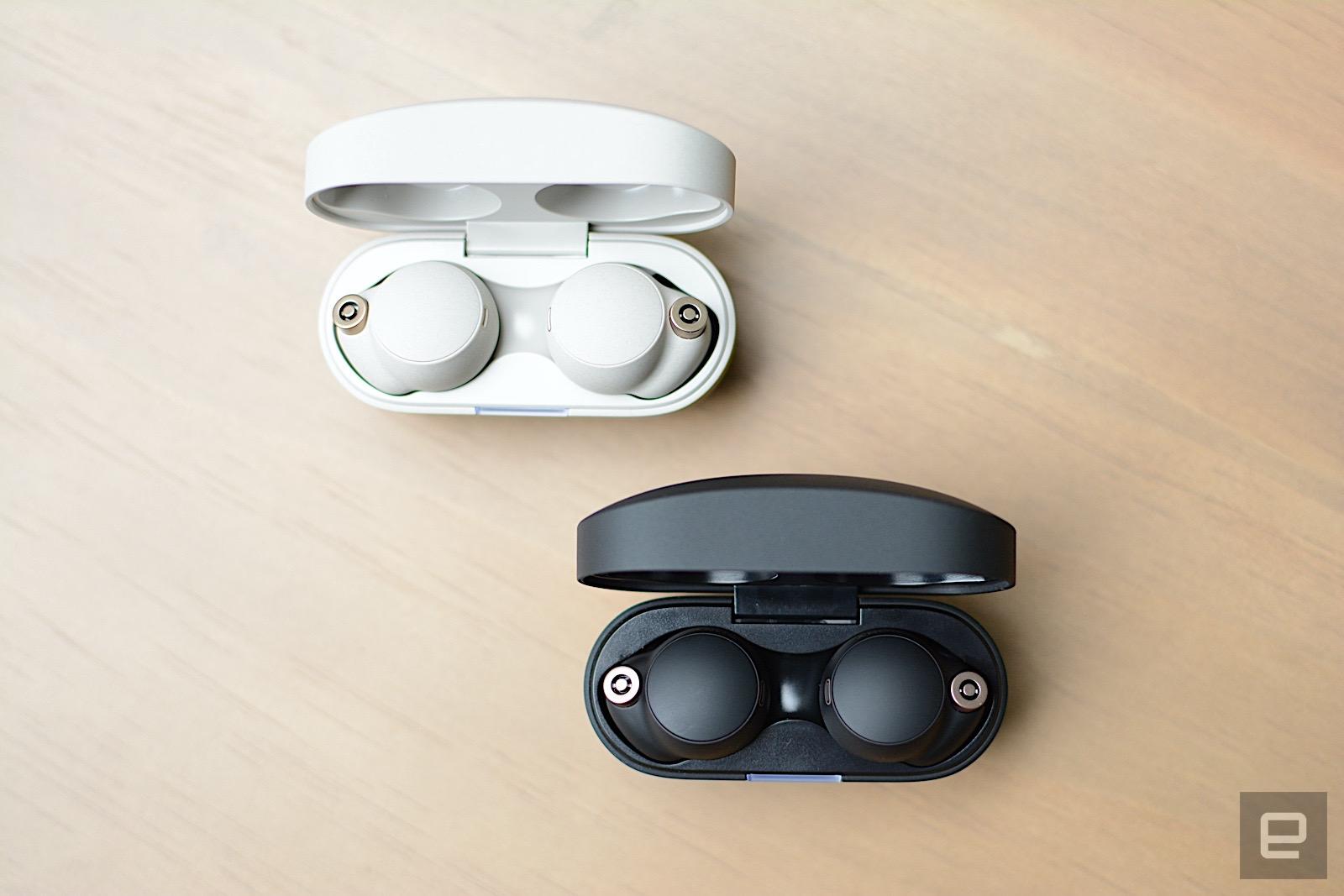 ICYMI: We take a listen to Sony's new WF-1000XM4 earbuds | Engadget