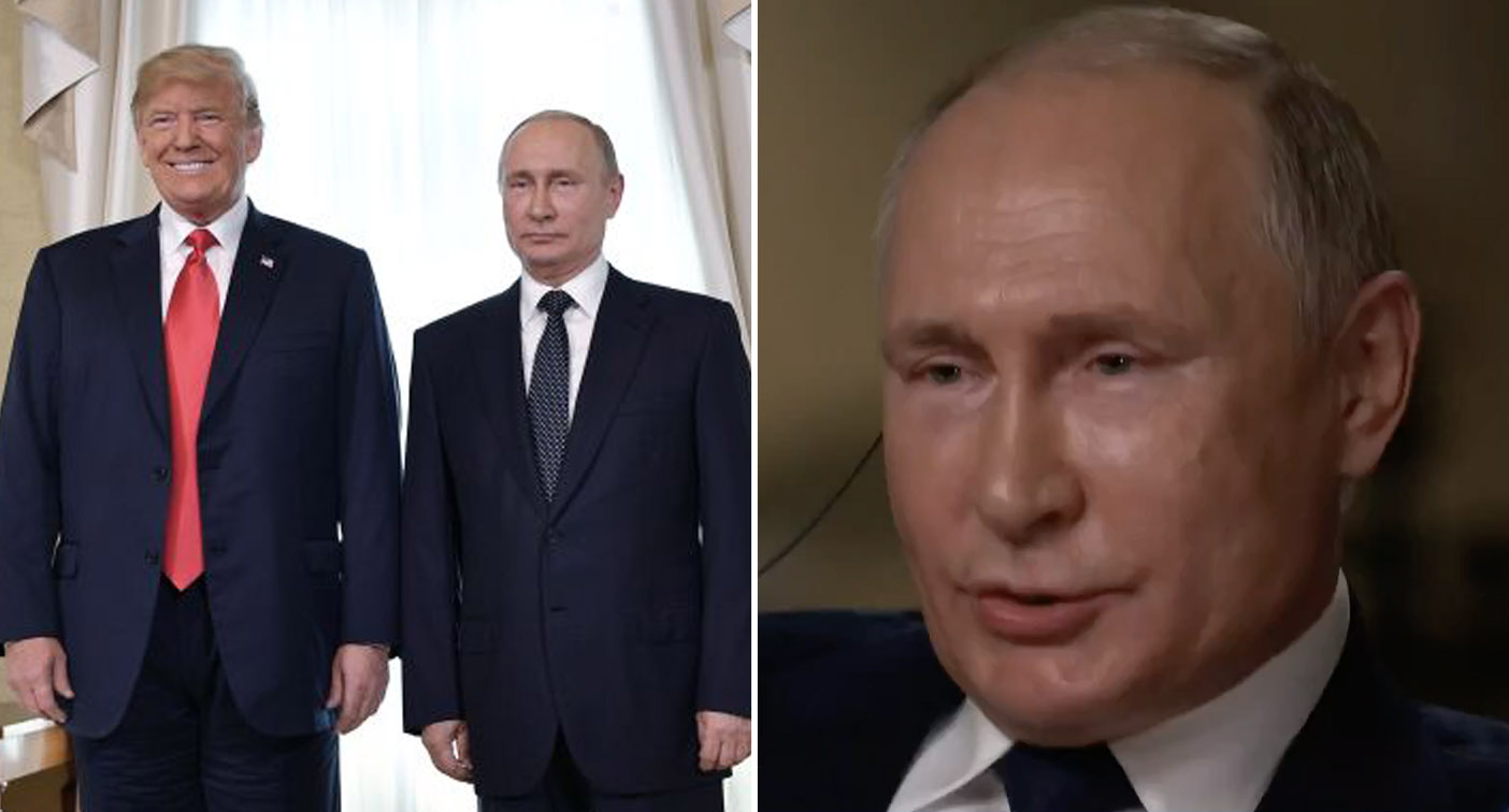 Putin reveals what he thinks of Trump in rare interview