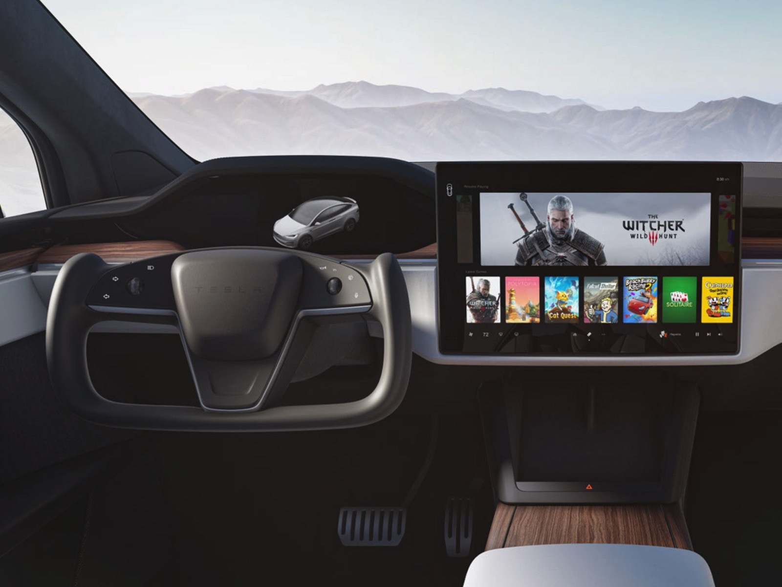 Today's headlines: Tesla shows off the $130,000 Model S Plaid's performance, Microsoft is making Xbox video game streaming sticks and FromSoftware, and George R.R.