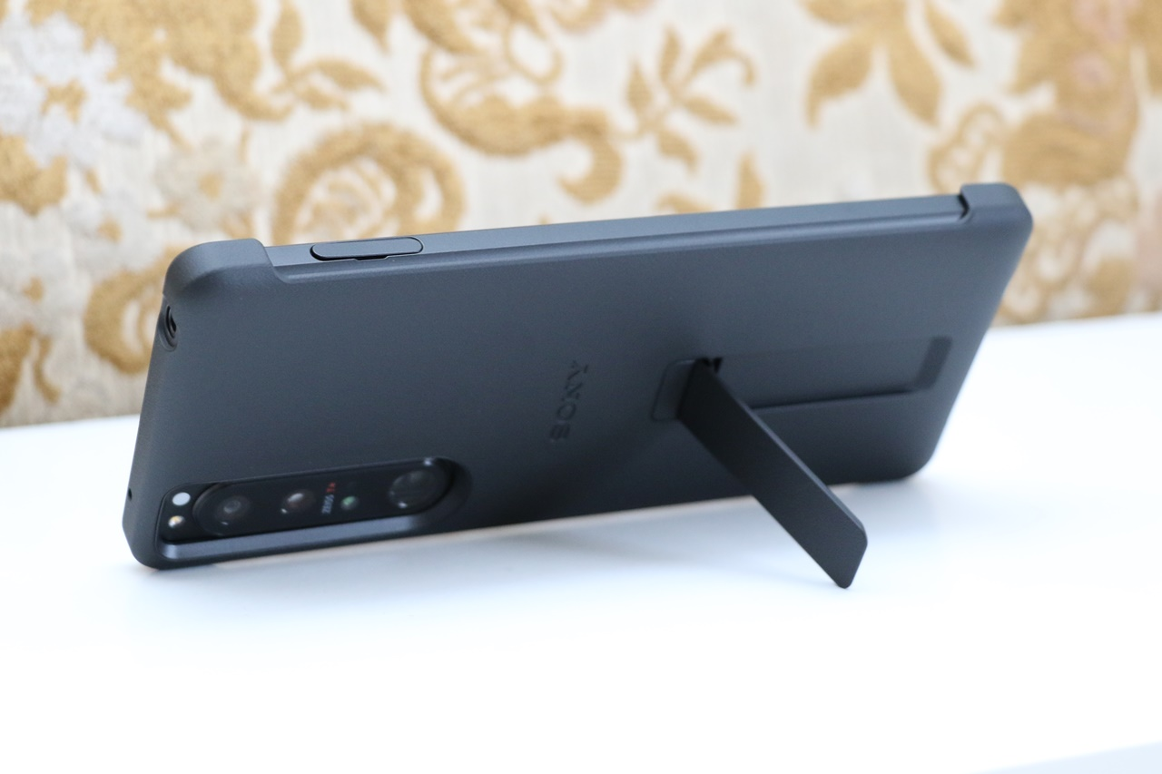 Xperia 1 III Style Cover with Stand XQZ-CBBC