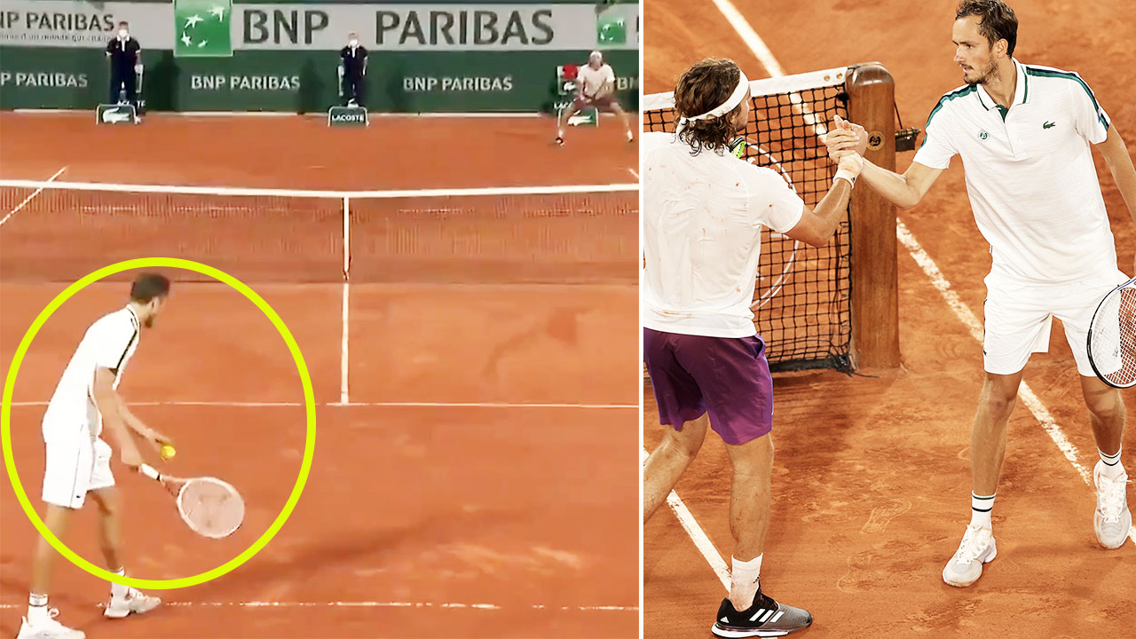 'What on earth': 'Embarrassing' act on match point stuns French Open – Yahoo Sport Australia