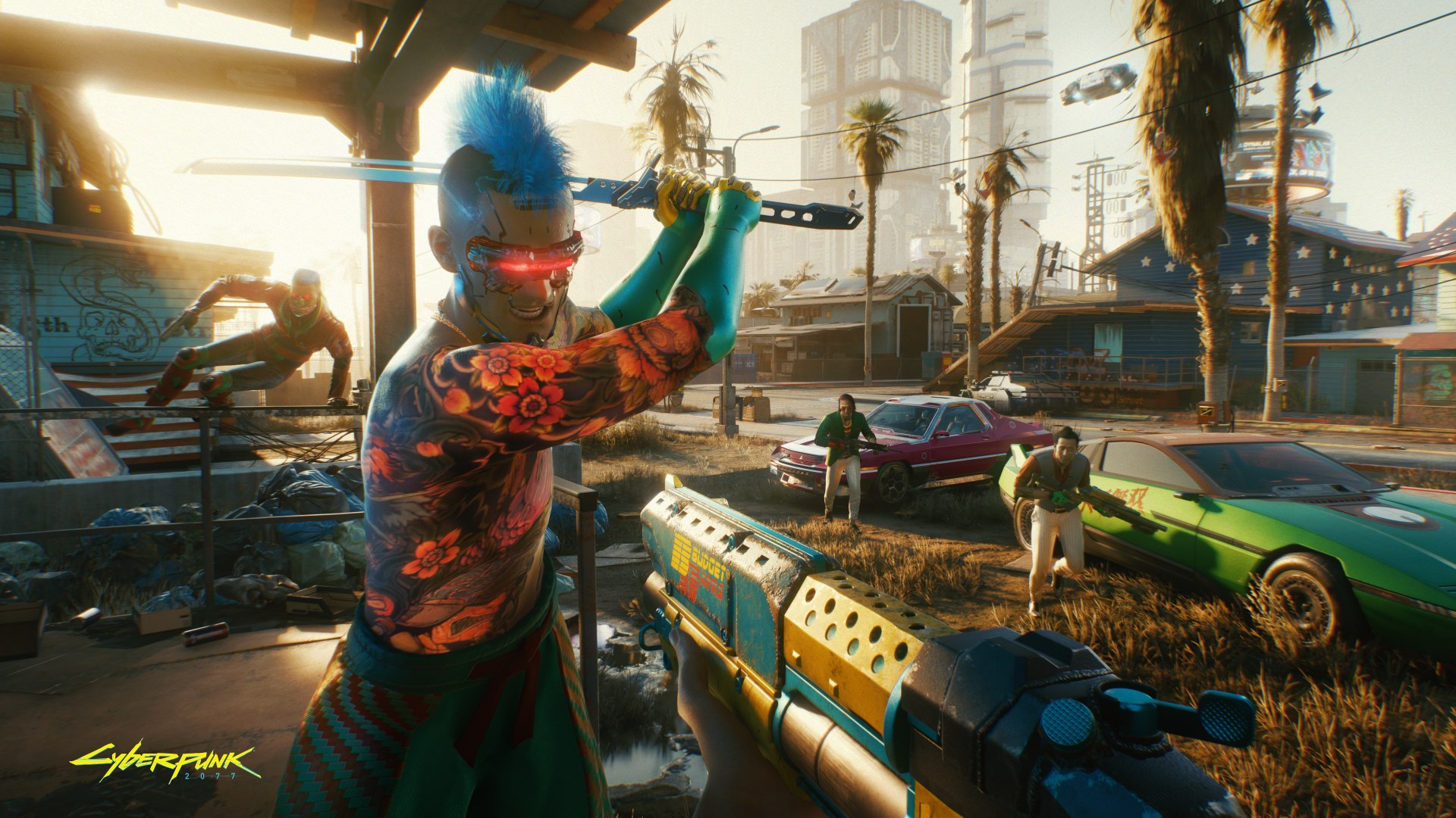 'Cyberpunk 2077' gets more crash fixes before heading back to the PS Store