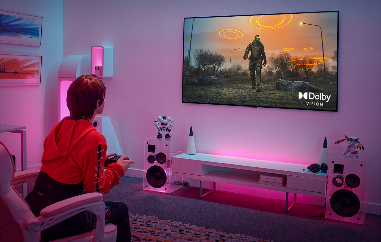 LG TV Dolby Vision Gaming