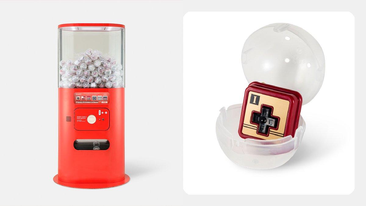Nintendo Tokyo gacha