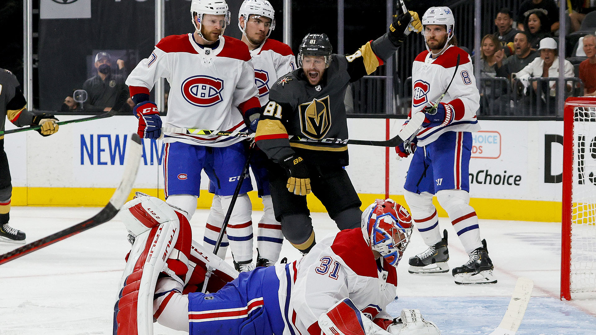 5 takeaways from Canadiens-Golden Knights Game 1: Montreal has no margin for error