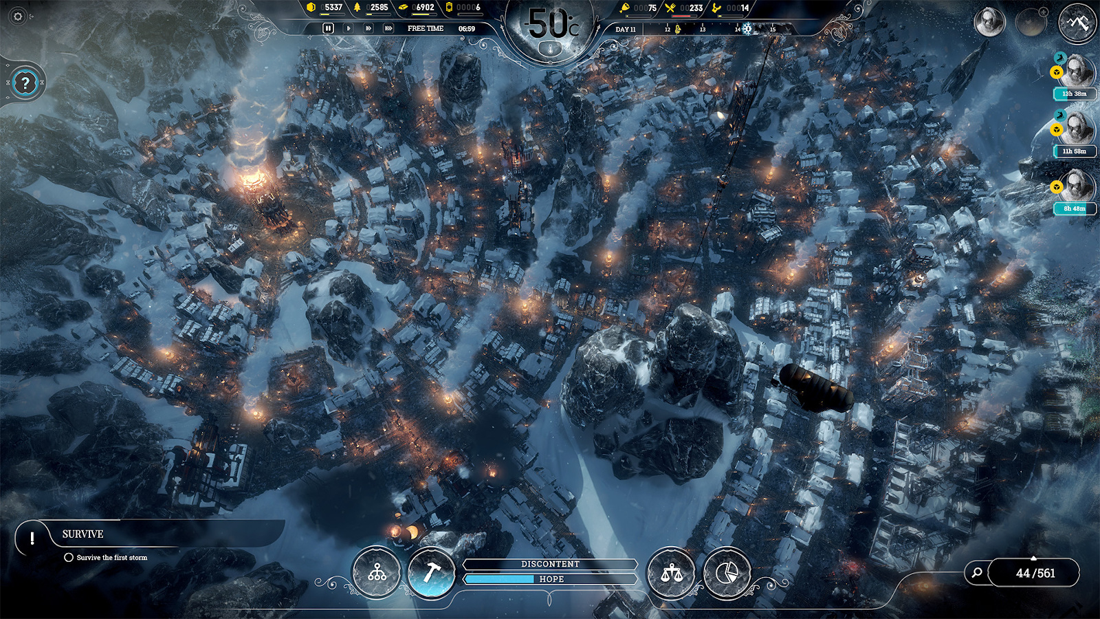 Nihilistic city builder 'Frostpunk' is free on Epic Games Store   Engadget