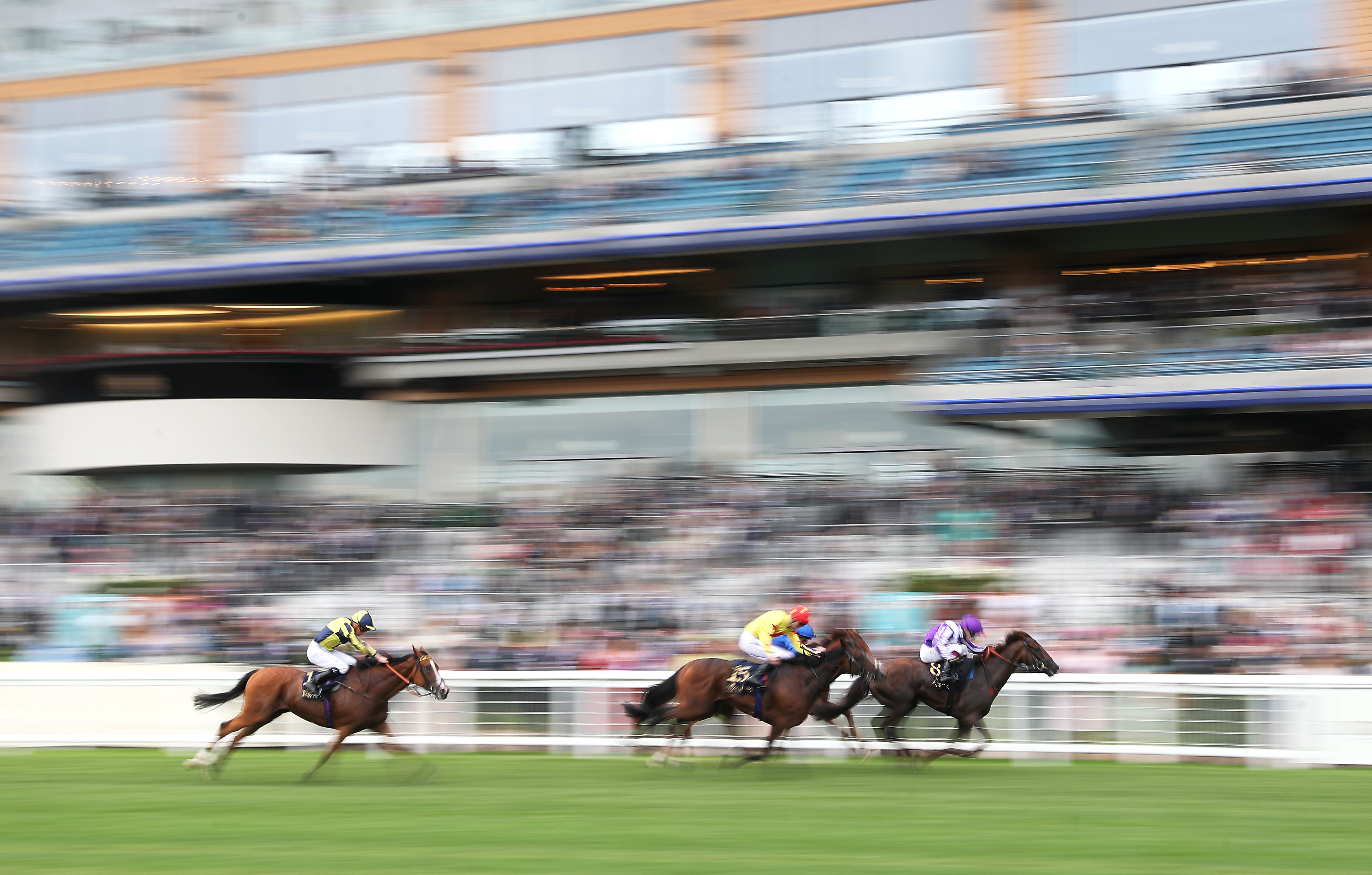 <p>Perotto ridden by jockey Oisin Murphy wins the Britannia Stakes (Heritage Handicap) during day three of Royal Ascot at Ascot Racecourse. Picture date: Thursday June 17, 2021.</p>