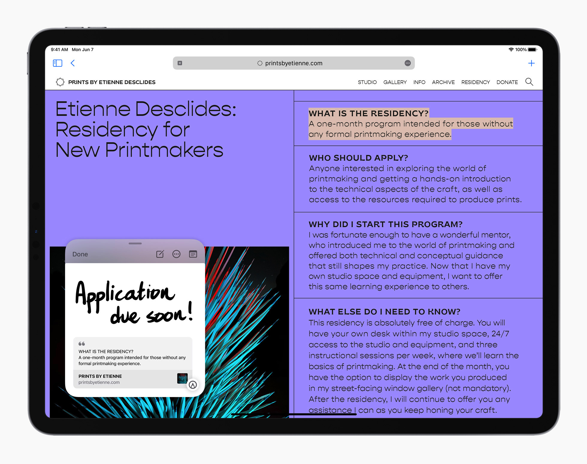 <p>Apple iPadOS 15</p>
