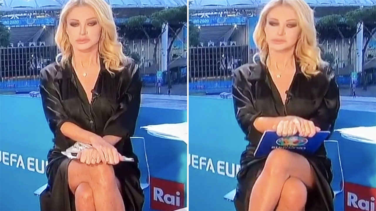 Euro 2020 host's classy response to claims of 'Sharon Stone moment'