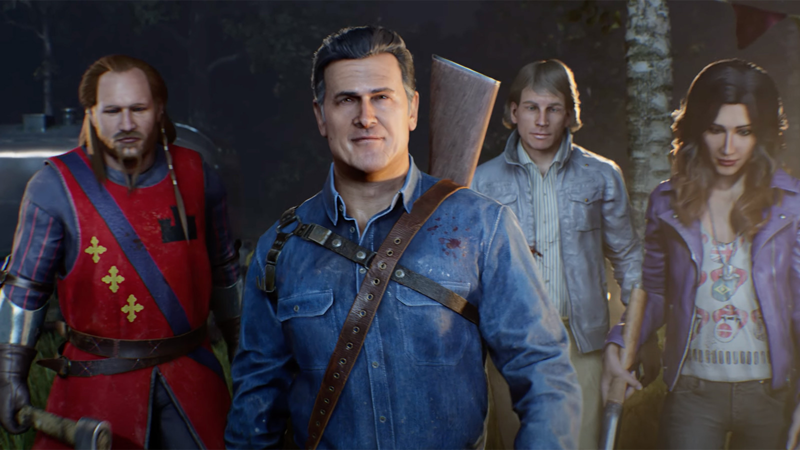 photo of 'Evil Dead: The Game' trailer shows a brutal multiplayer battle with Deadites image