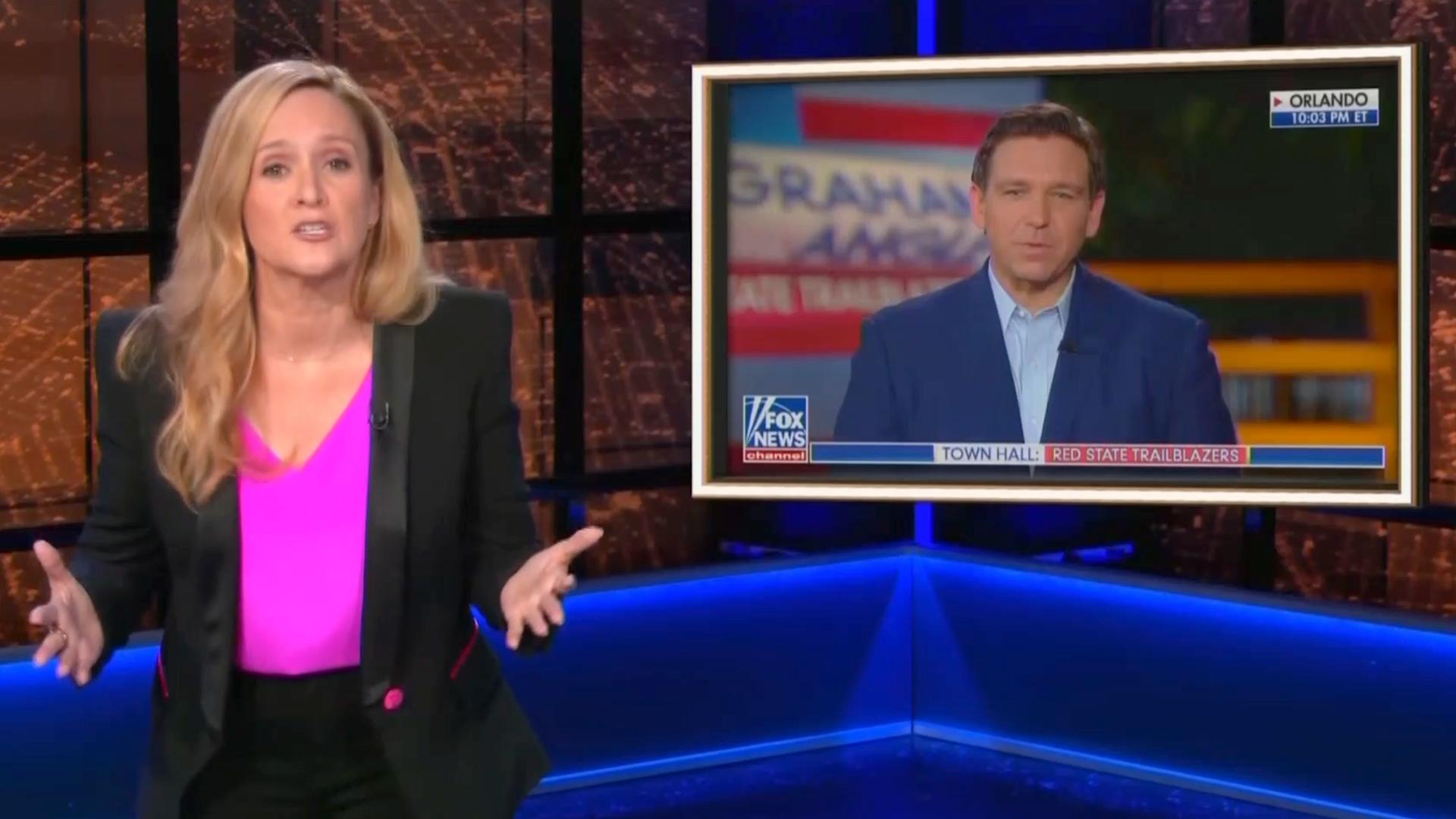 Samantha Bee rips apart Ron DeSantis: 'One of the worst governors in Florida history'
