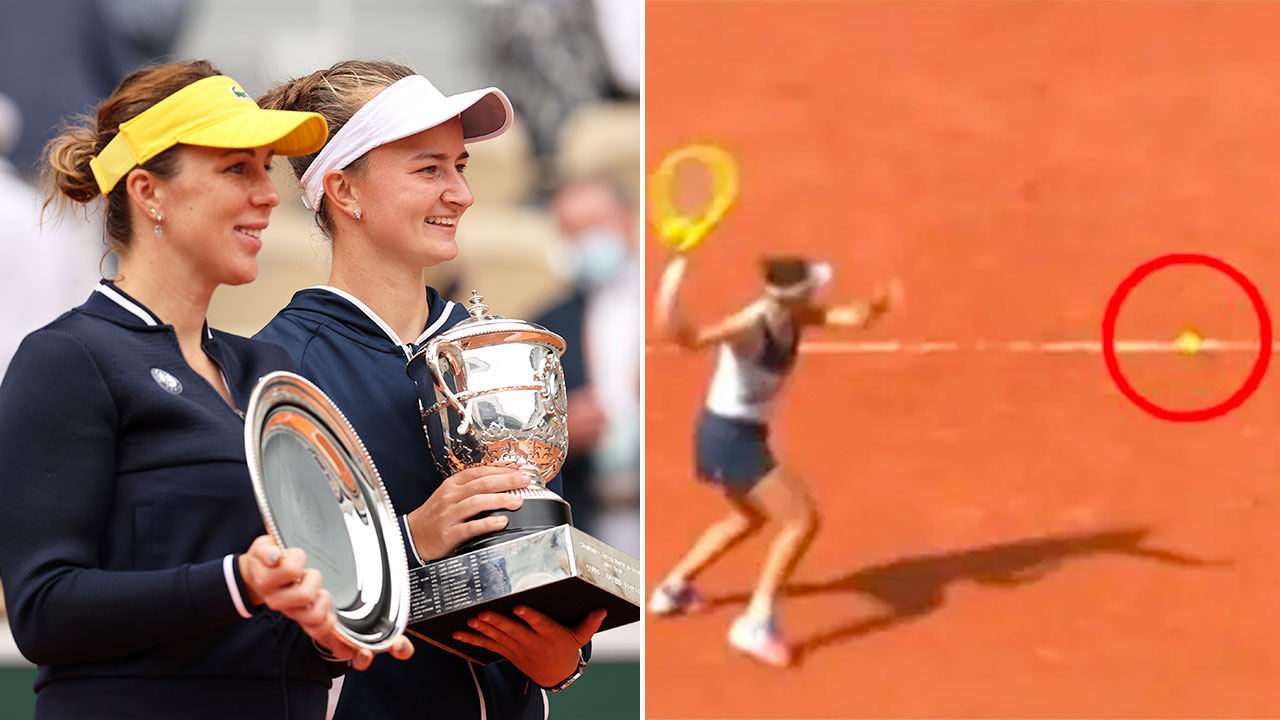 Women's French Open final ends with 'inexcusable' incident