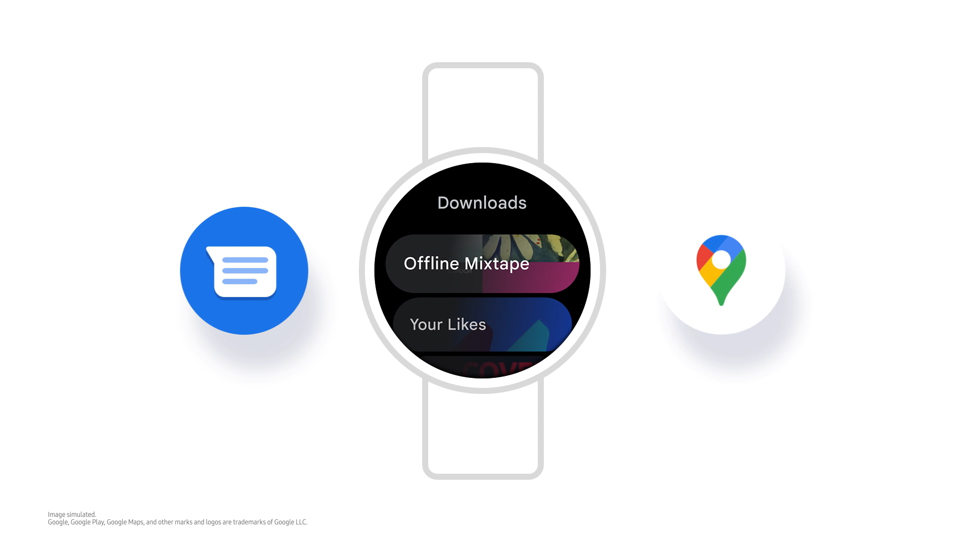 <p>A screenshot showing the new Samsung One UI Watch experience based on Wear OS.</p>
