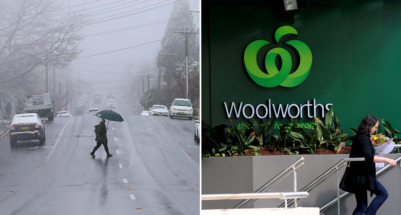 Woolworths shares most popular cold snap items