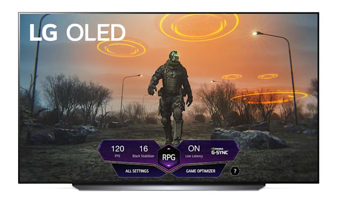 LG OLED Game Dashboard
