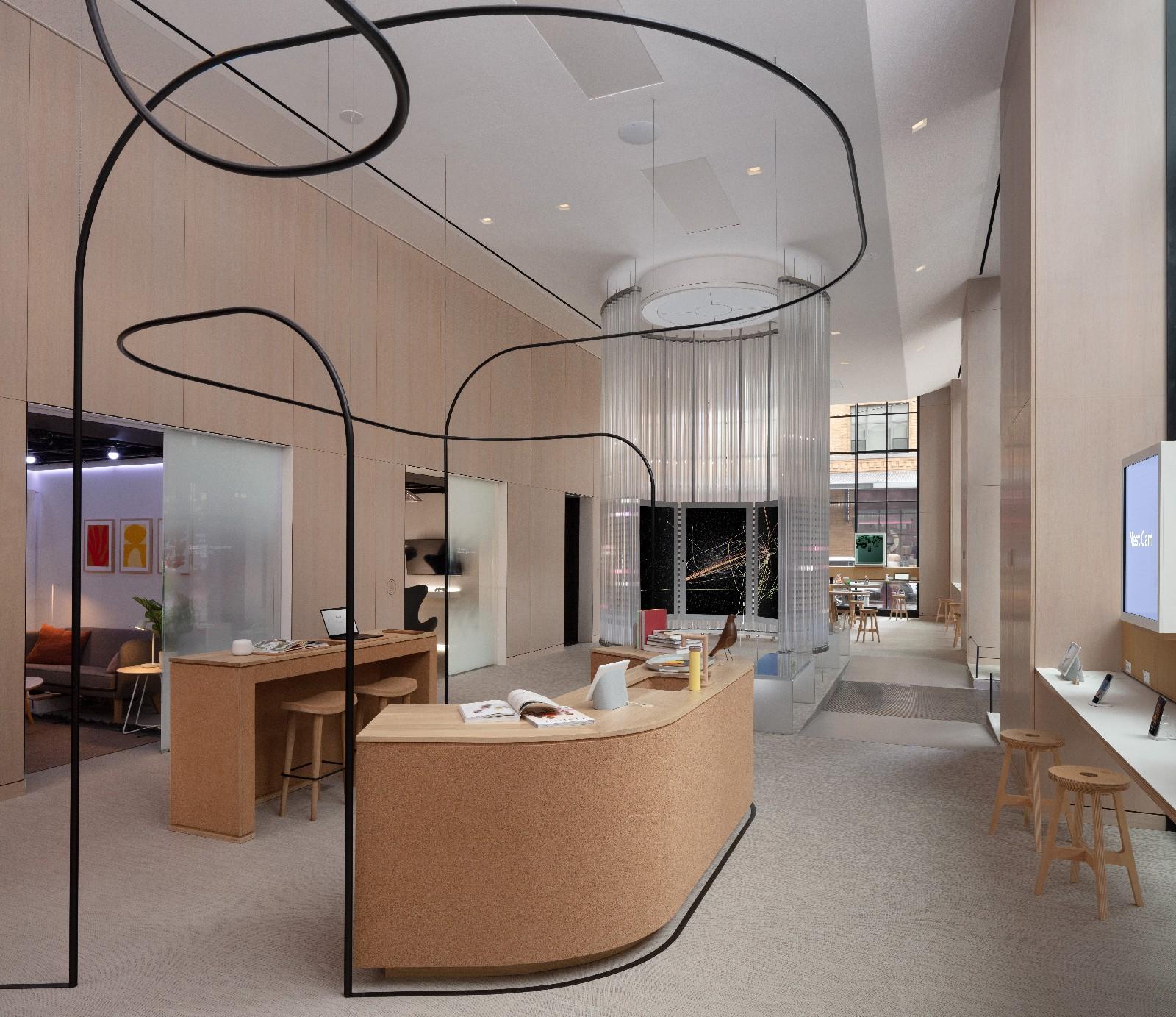 <p>Google Store Chelsea. Interior, alternate view.</p>