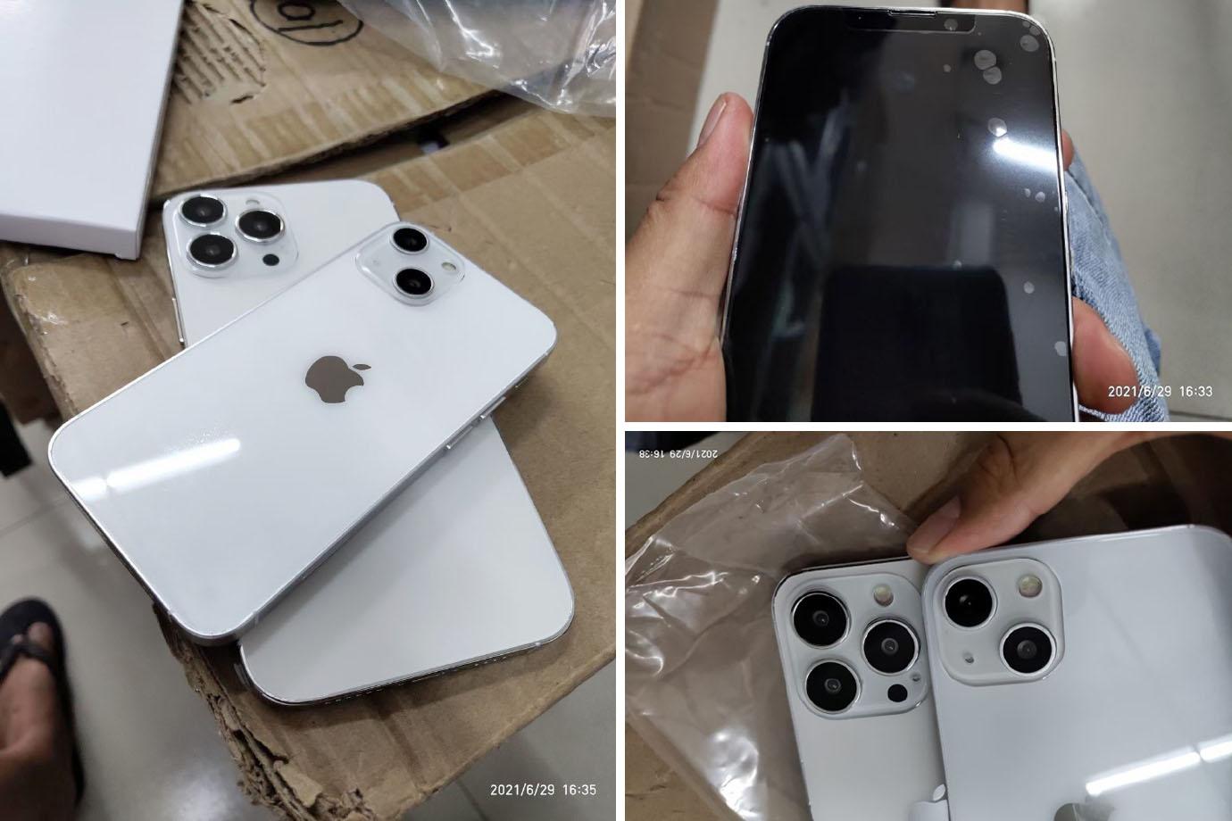 iPhone 13 dummy model leaked, notch miniaturization and camera layout changed