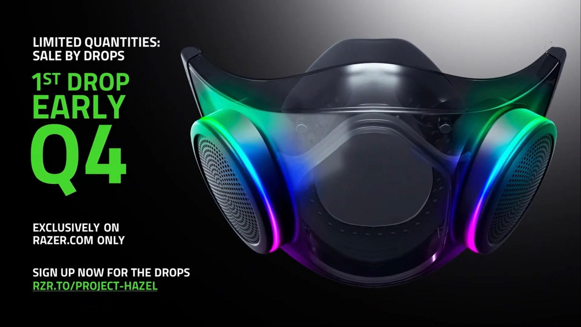 Razer Project Hazel Smart Face Mask