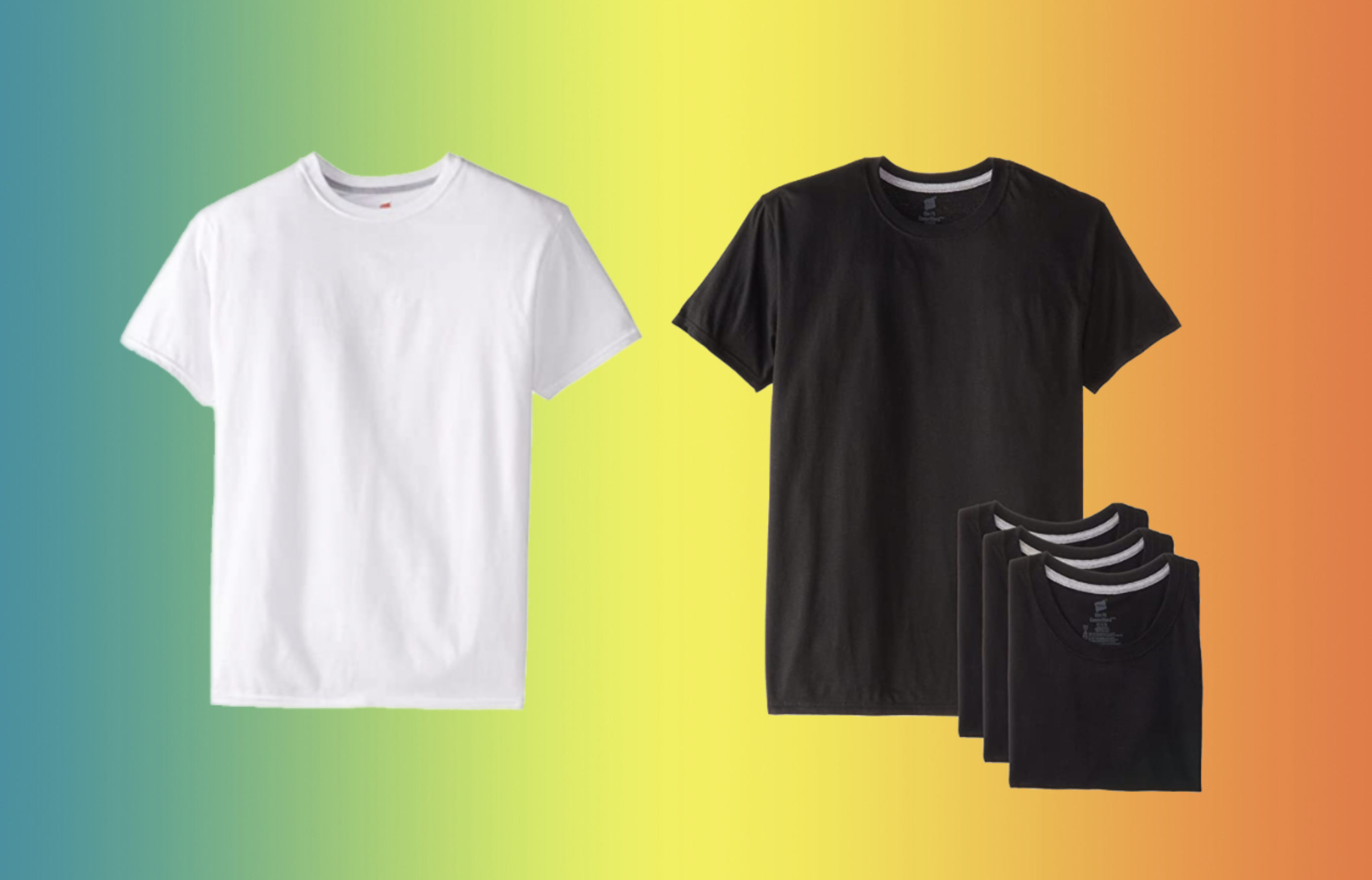 COSMO  Amazon shoppers say this is the best men's T-shirt 'of all time' —get a 4-pack for just $24