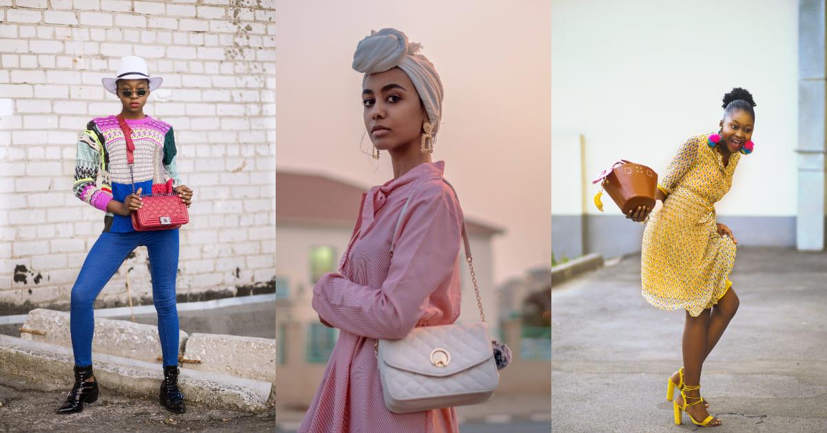 H型的女生因为没有明显腰线,可以选择比较柔软的包包,像是水桶包,打造多点温柔的女人味