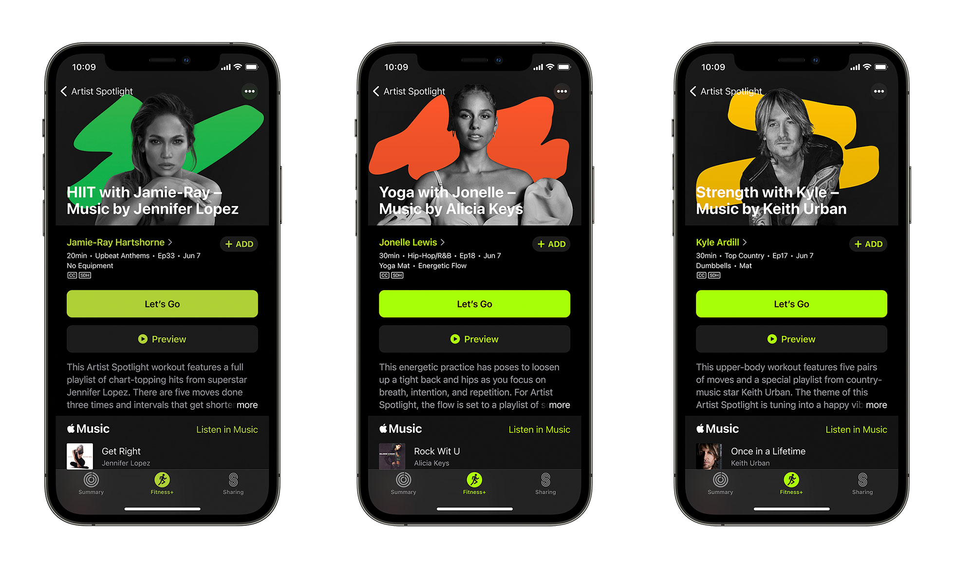 Apple'ın sanatçı temalı Fitness+ antrenmanları bu Pazartesi başlıyor | Engadget