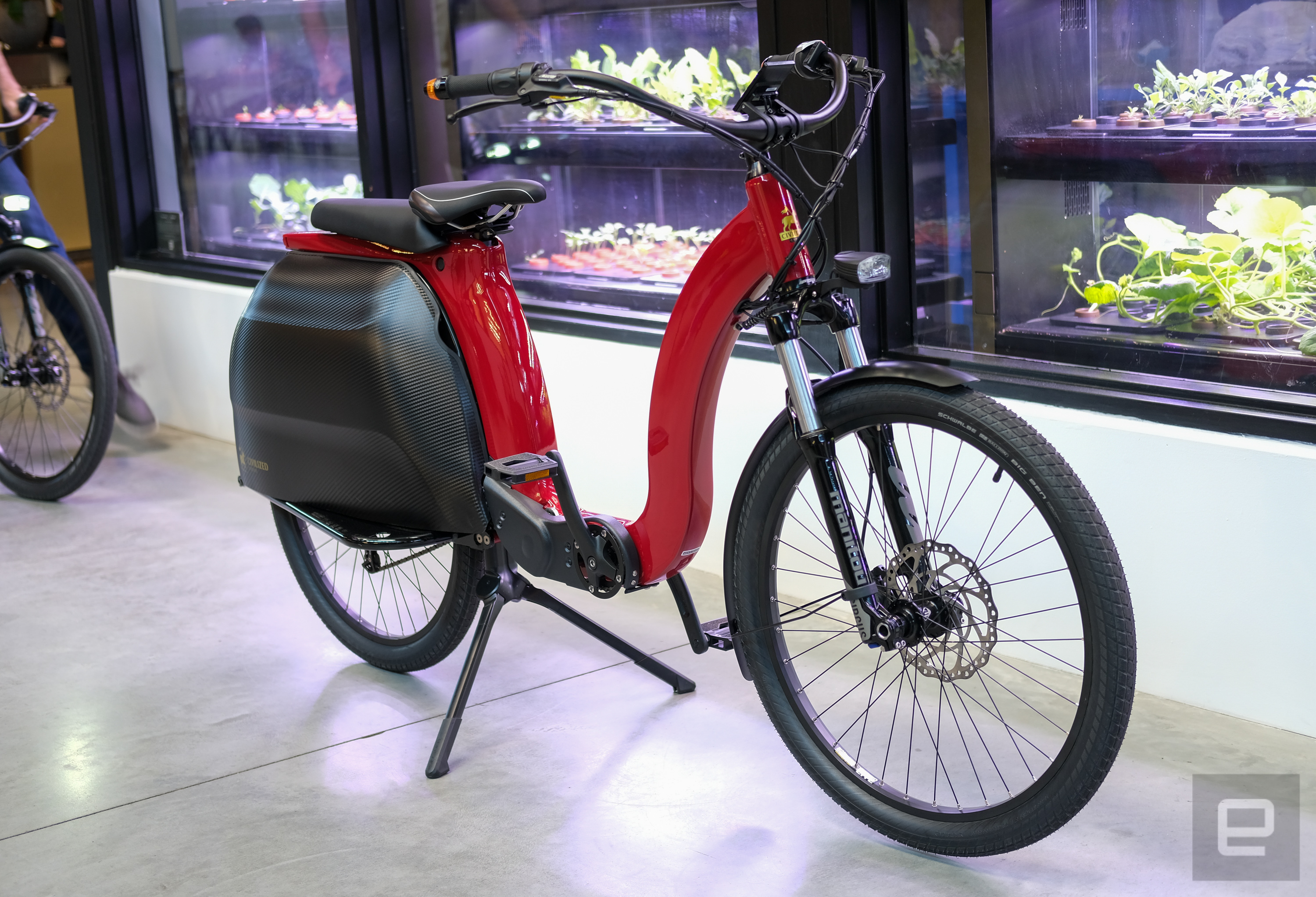 <p>Civilized Cycles Model 1 first ride</p>