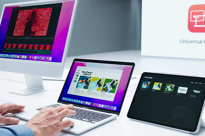 Universal Control lets you use Macs and iPads like they're one machine