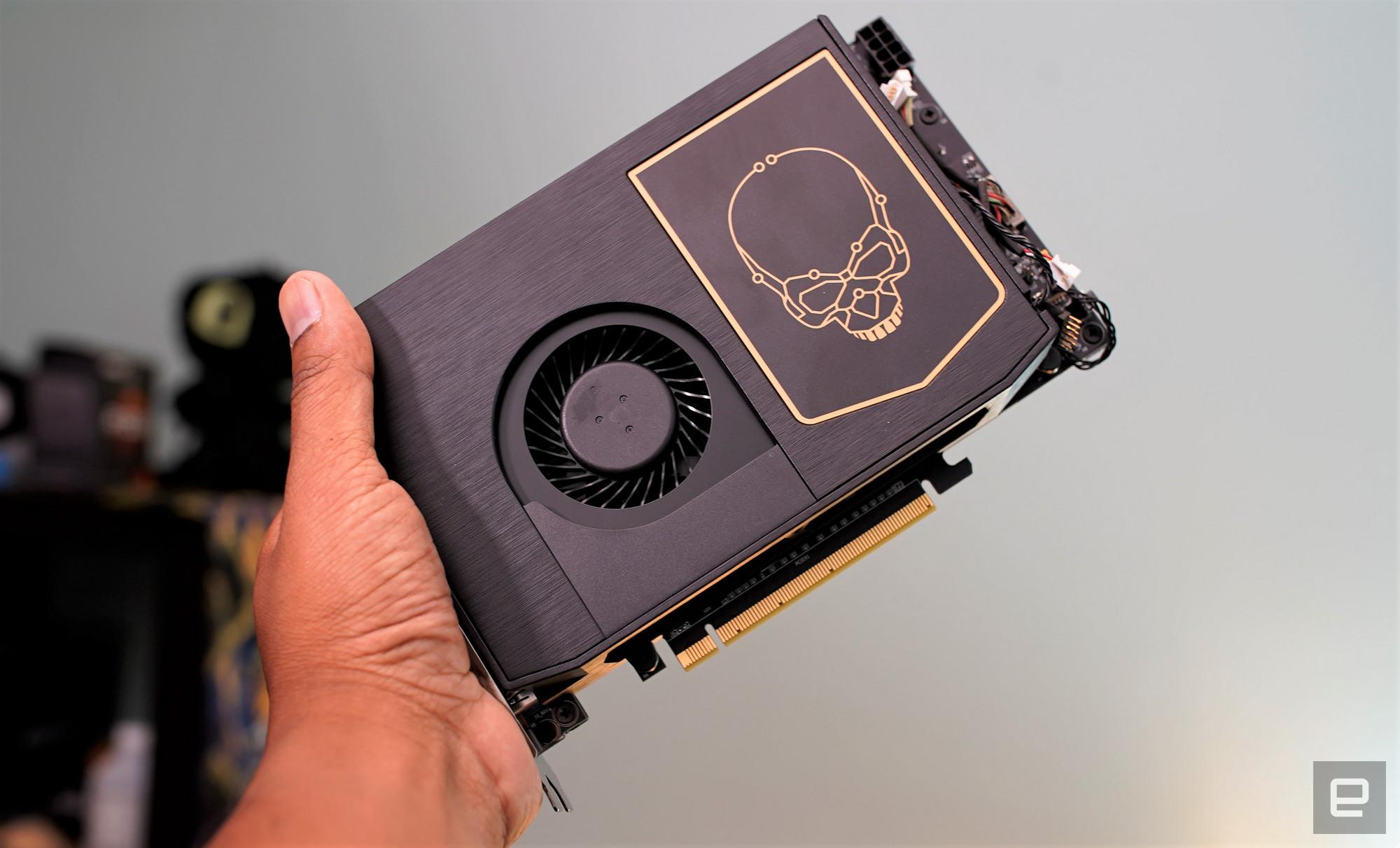 <p>Intel NUC 11 Extreme mini gaming desktop</p>