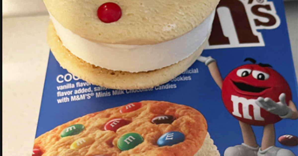 Shopper furious over discovery in M&M's ice cream: 'I feel tricked'
