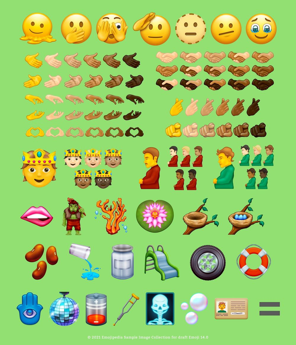 Unicode 14.0 Emoji candidates