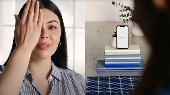 Warby Parker Virtual Vision Test App