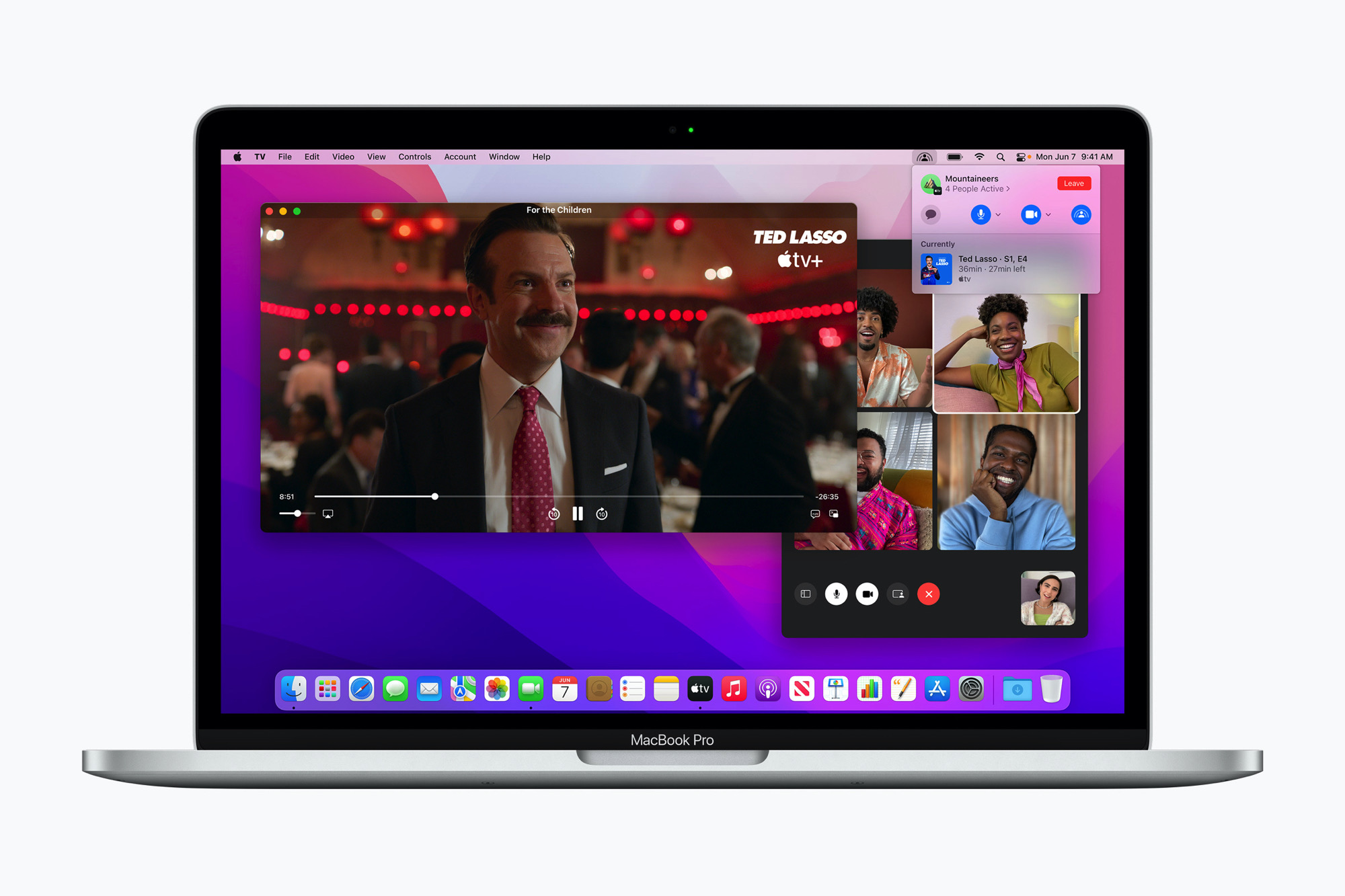 macOS Monterey Facetime Shareplay