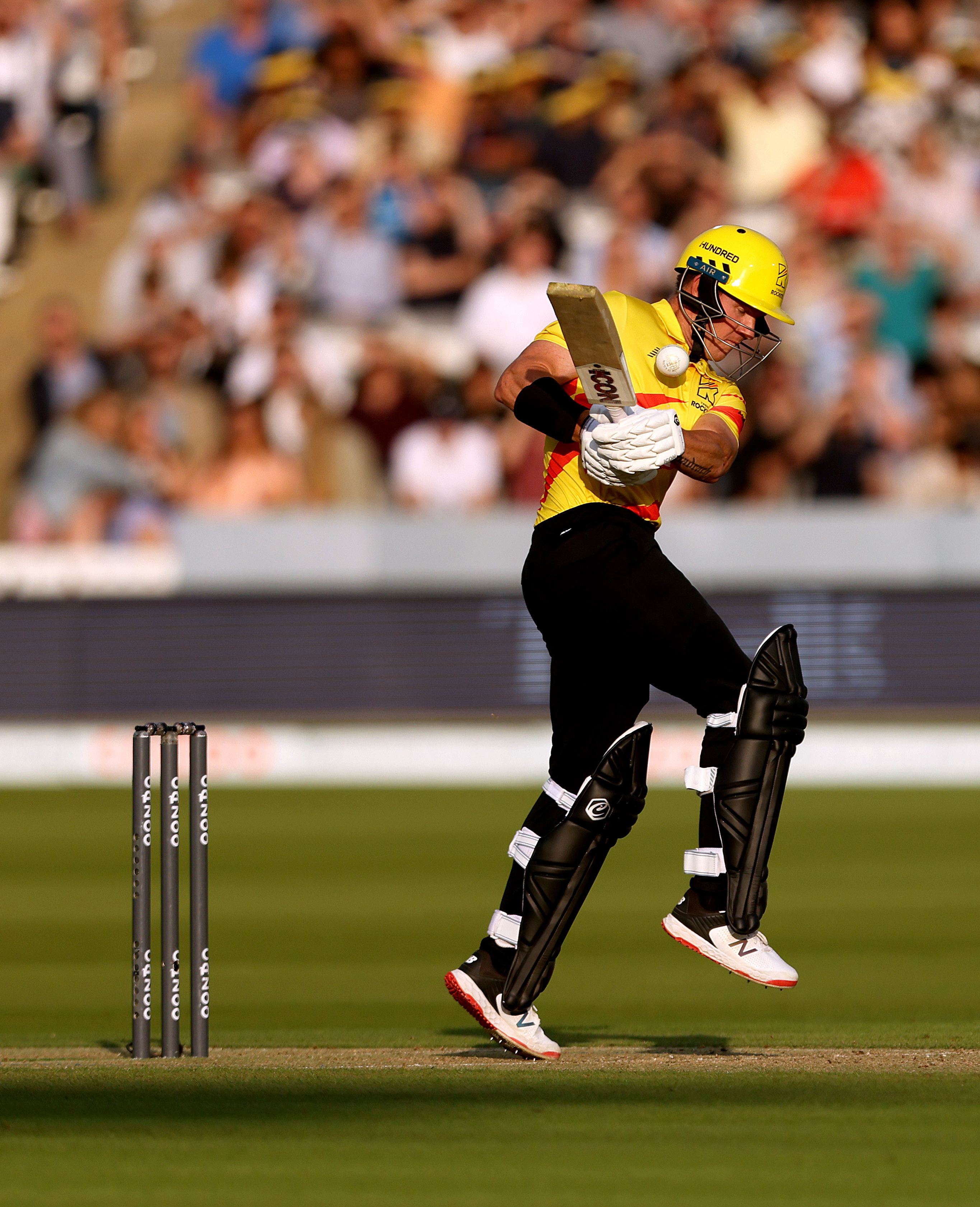 <p>Trent Rockets' D'Arcy Short during The Hundred match at Lord's London. Picture date: Thursday July 29, 2021.</p>
