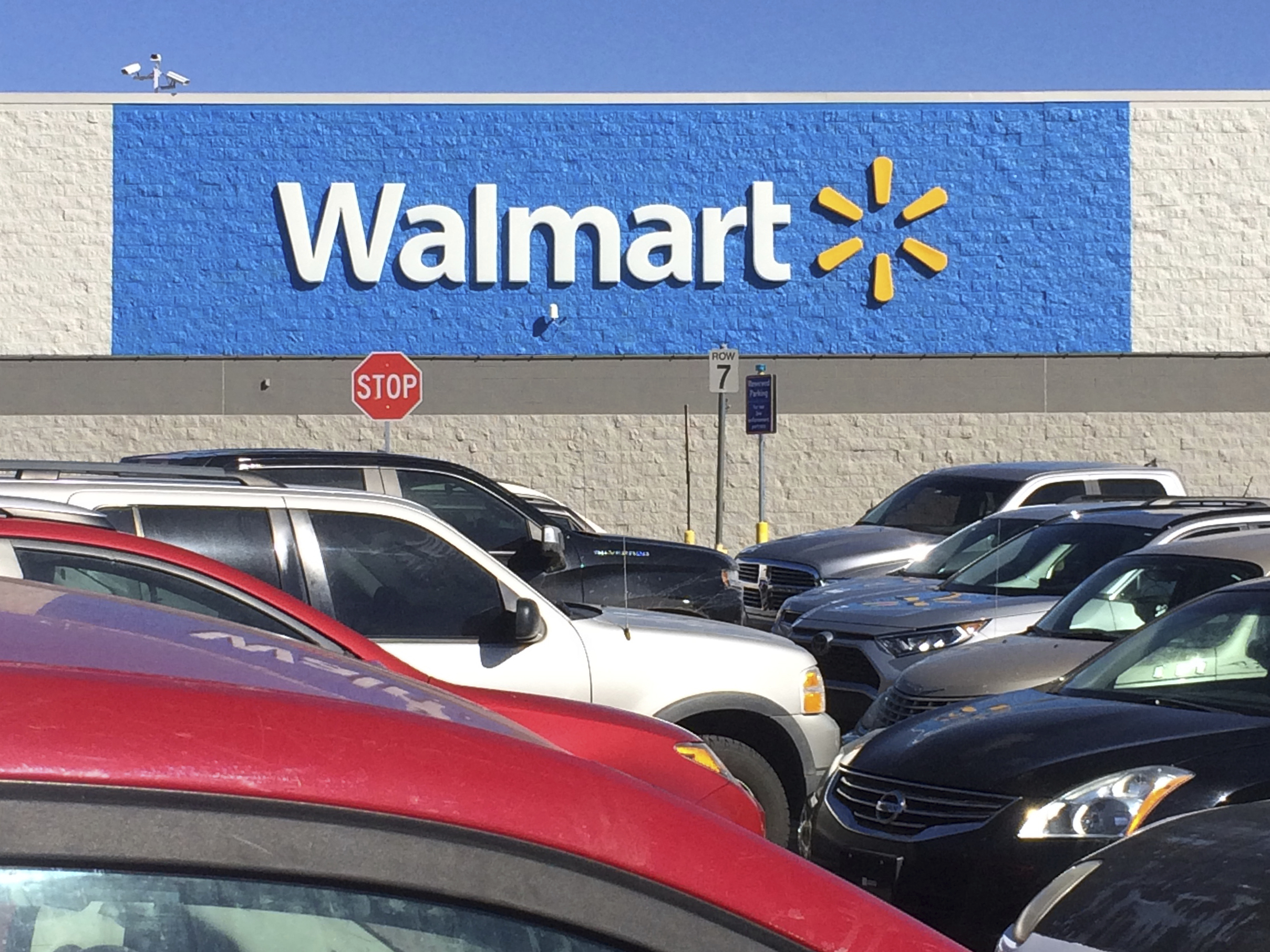 Photo by: BBB/STAR MAX/IPx 2021 2/24/21 A Walmart is seen in Stillwater, Oklahoma.