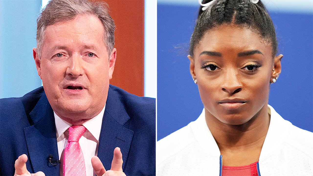 Piers Morgan savaged over 'shameful' Simone Biles comments