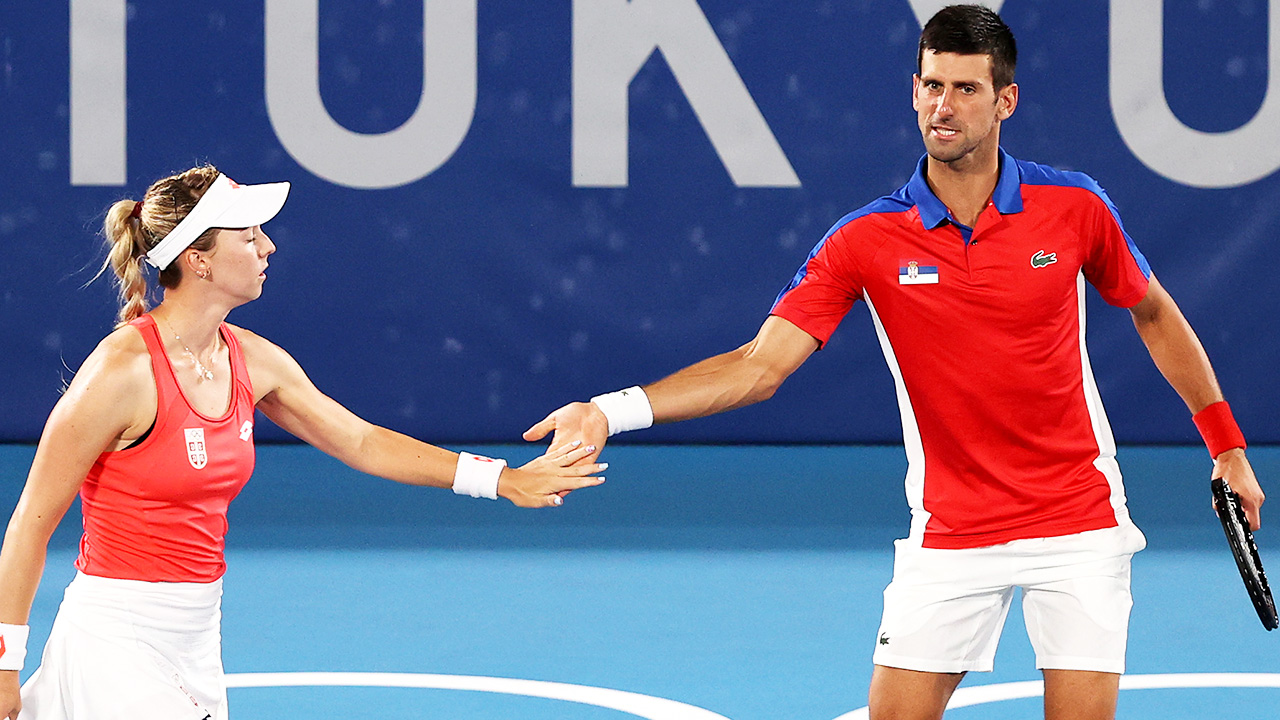 Novak Djokovic's act of defiance against coach at Olympics