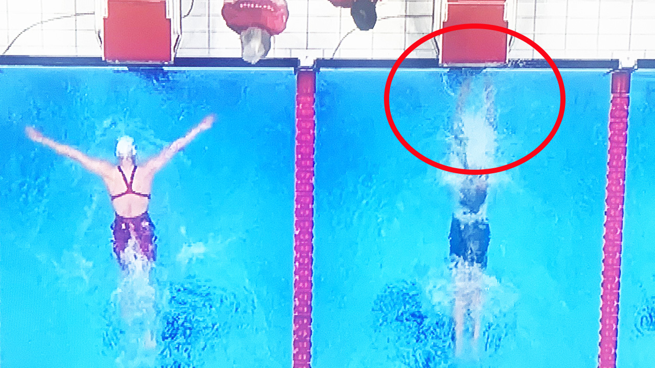 Aussie swimmer caught in 'dead-heat' furore at Olympics