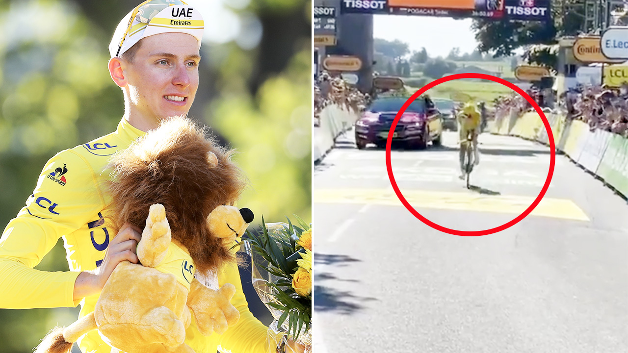 Tour de France winner stuns fans in never-before-seen moment