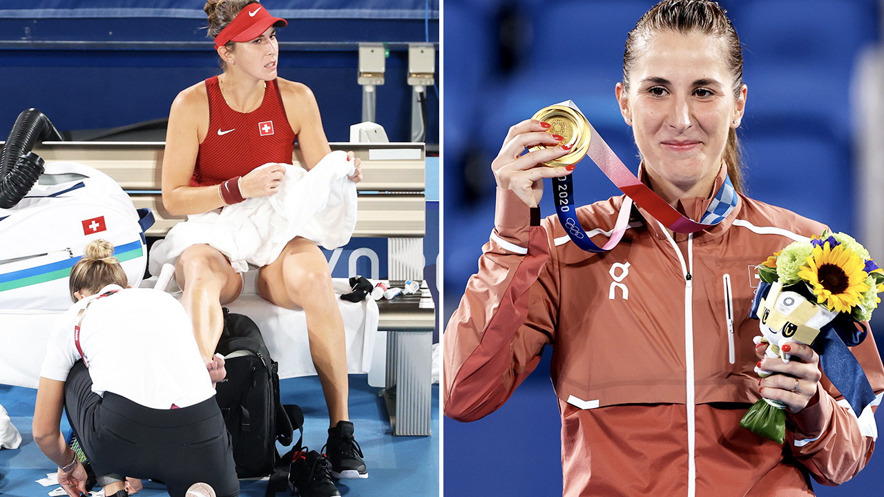 'Shouldn't be allowed': Ugly furore in tennis gold medal match