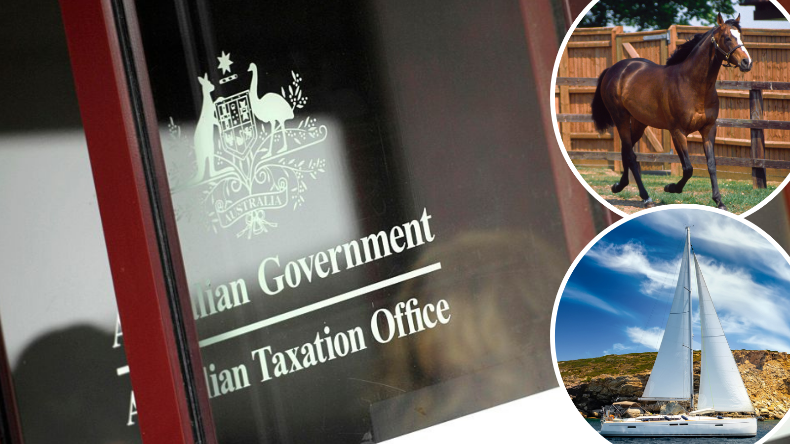 Yachts, cars, horses: ATO's fresh warning to 300,000 rich Aussies