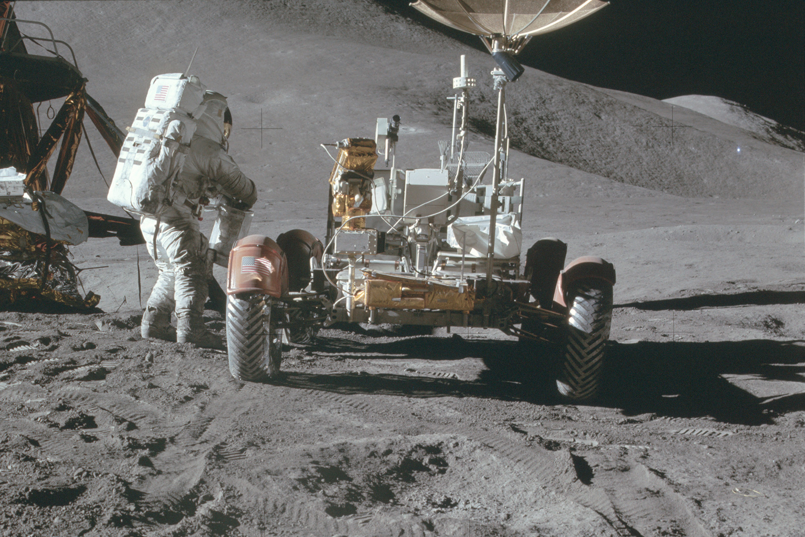 People first flew to the moon 50 years ago today