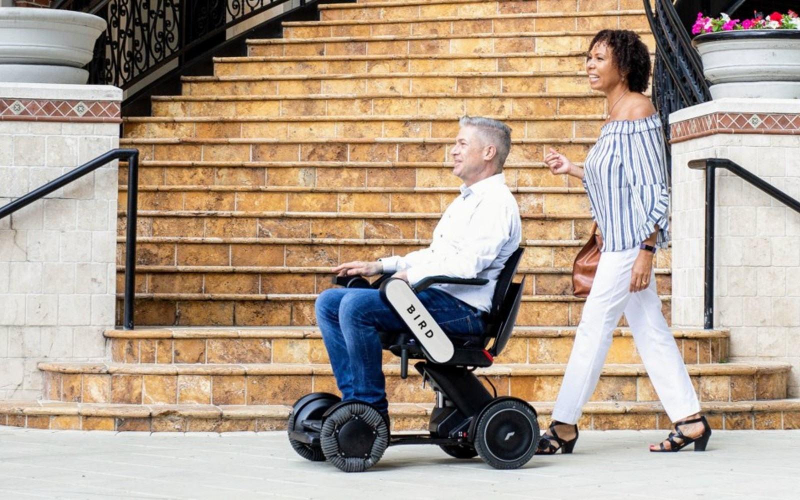 Bird pilots electric wheelchair and mobility scooter rentals in New York City | Engadget