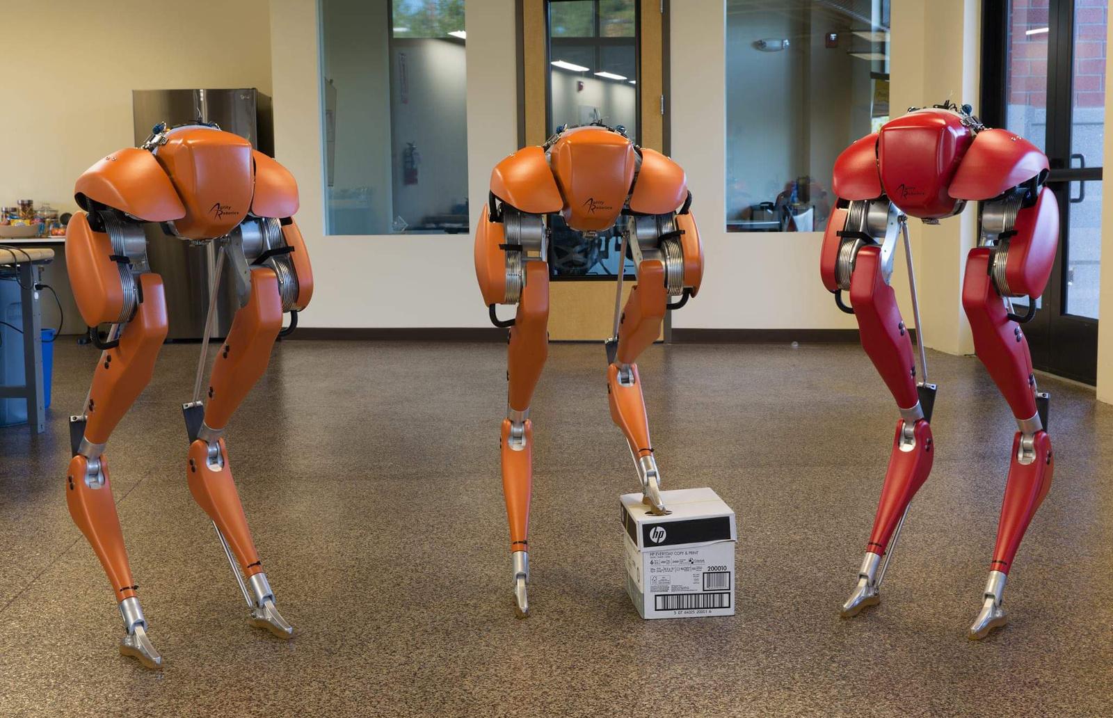 Watch Cassie the bipedal robot run a 5K | Engadget