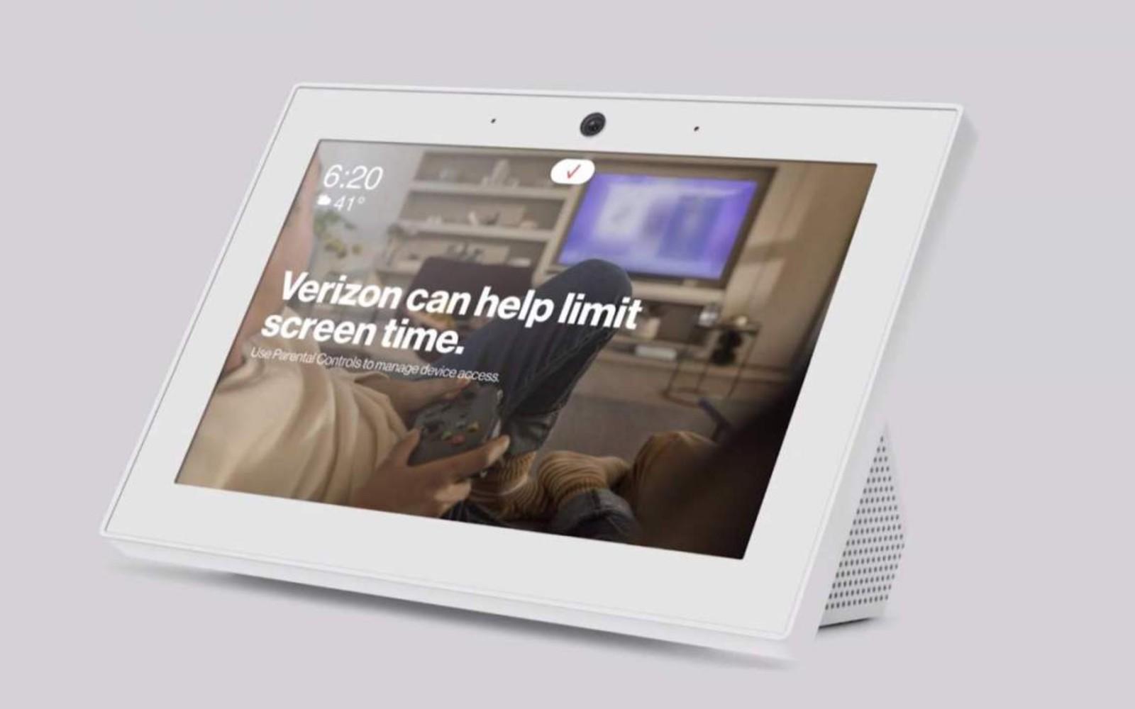 Verizon's Smart Display includes LTE in case of Fios interruptions